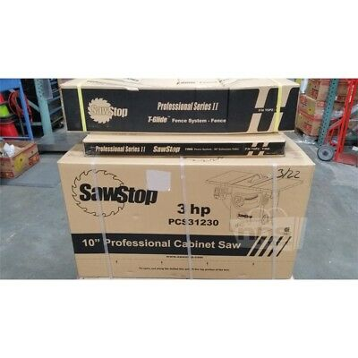SawStop PCS31230 10in Professional Cabinet Saw 3HP 230V w/ Fence & Ext. Table**