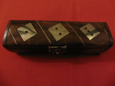 Boxed, Wooden  Dice.  Set of 6