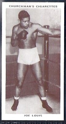 Churchman-Boxing Personalities-#26- Joe Louis