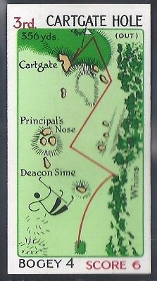 Churchman-Can You Beat Bogey At St Andrews (No Overprint)-#09- Quality Golf Card