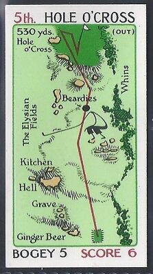 Churchman-Can You Beat Bogey At St Andrews (No Overprint)-#14- Quality Golf Card