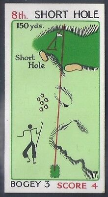 Churchman-Can You Beat Bogey At St Andrews (No Overprint)-#23- Quality Golf Card