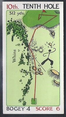 Churchman-Can You Beat Bogey At St Andrews (No Overprint)-#29- Quality Golf Card
