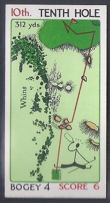 Churchman-Can You Beat Bogey At St Andrews (No Overprint)-#30- Quality Golf Card