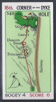 Churchman-Can You Beat Bogey At St Andrews (No Overprint)-#47- Quality Golf Card