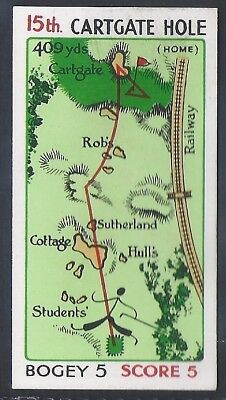 Churchman-Can You Beat Bogey At St Andrews(Red Overprint)-#44- Quality Golf Card
