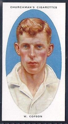 Churchman-Cricketers Cricket-#09- Derbyshire - Copson