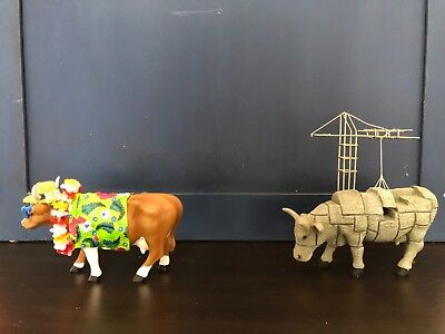 Rare cow parade lot (4), used in great condition. No Boxes.