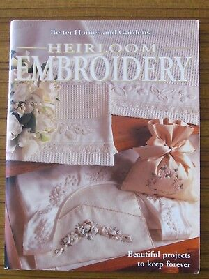 Better Homes & Gardens - Heirloom Embroidery Cross Stitch Montmellick Trapunto