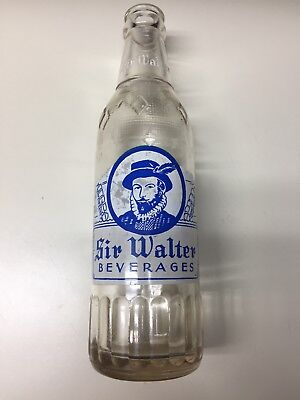 vintage ACL Soda Pop Bottle:  SIR WALTER of PARKTON, N.C. - 10  oz ACL