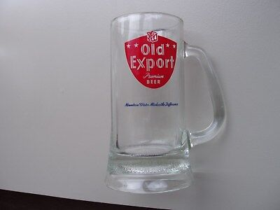 Old Export mug: Cumberland, Maryland 1960s/early 1970s and Old German matchbook