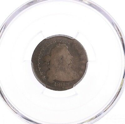 1805 Draped Bust 10C PCGS CAC Certified AG03 About Good Graded 5 Berries Reverse