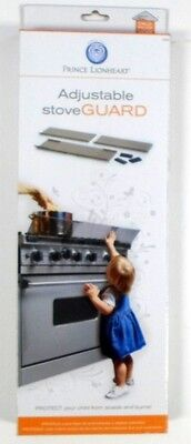 PRINCE LIONHEART Adjustable Stove Guard Child Safety Protects from Burns