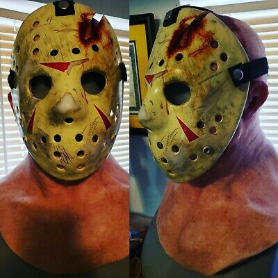 Friday the 13th The Final Chapter Jason Voorhees Hockey Mask & Hood & Clothing