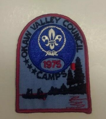 1975 Okaw Valley Council Camp Patch