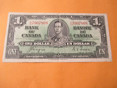 1937 $1 Bank Of Canada
