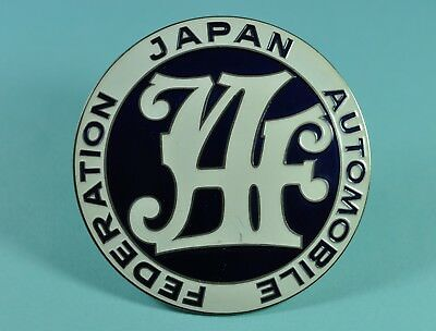 Plakette Japan Automobile Federation