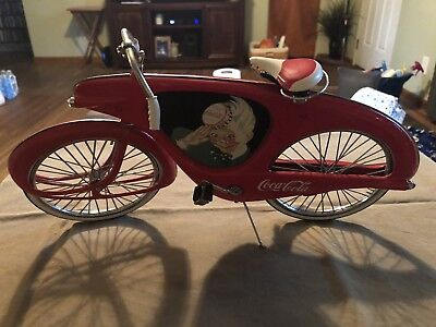 Coca-Cola Diecast Bicycle By One And Six Scale Xonex Sprite Boy (no Box)