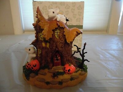 Charming Tails By Fitz And Floyd The Haunted House Lights and Sound