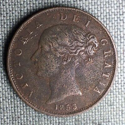 Great Britain 1/2 Penny, 1853 - 1319