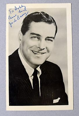 Jack Barry (D.84) Signed Auto Autograph Photo Quiz Show Scandal Host Jsa/dna Loa