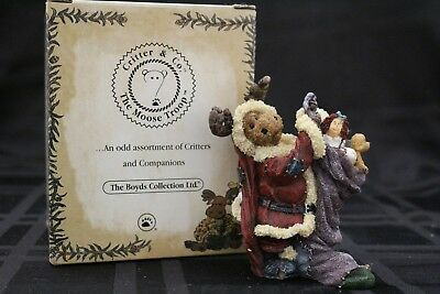 "Boyds ~ Critter & Co.. Moose Troop~""Morley Kringlemoose Stocking Stuffer"" #36908"
