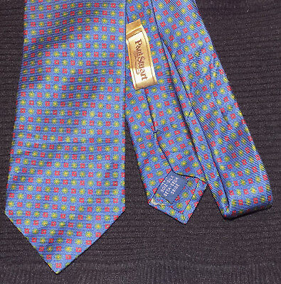 PAUL STUART men's tie 100% Silk Made in Italy [ Desingned in France ]
