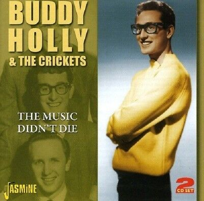 Buddy & The Crickets Holly - The Music Didn't Die 2 Cd New!