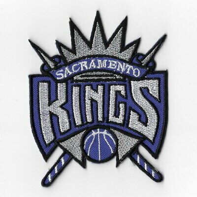 NBA Sacramento Kings Iron on Patches Embroidered Badge Patch Applique Emblem