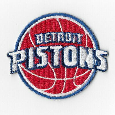 NBA Detroit Pistons Iron on Patches Embroidered Badge Patch Applique Emblem Sew