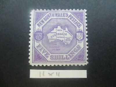 NSW Stamps: 5/- Centenary of NSW Mint - great items    (k48