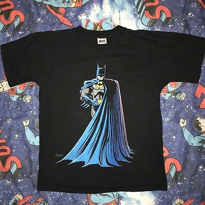1988 Batman Vintage Shirt Rare Authentic DC Comics Size M 30 Years!!!