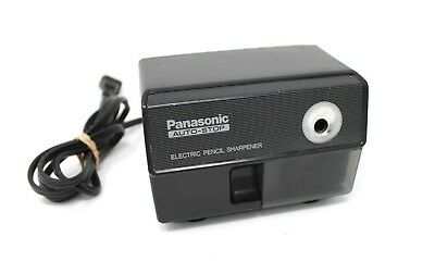 Vintage Panasonic Auto-Stop Electric Pencil Sharpener Black - Model KP-110