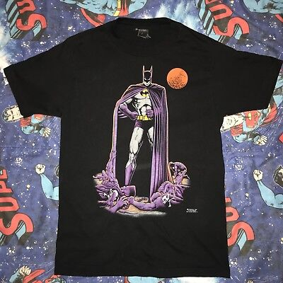 Changes Vintage 1988 Batman Shirt DC Comics Rare Authentic Size S/M