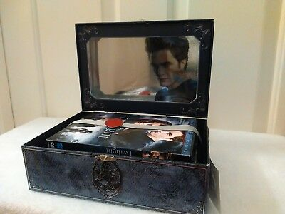Twilight Saga Ultimate Collectors Set + 4 Keepsake Journals in Collective Tin