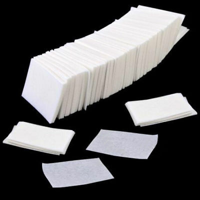 400pcs Lint Free Nail Wipes Cotton Pads Polish Remover Cleaner Manicure Paper