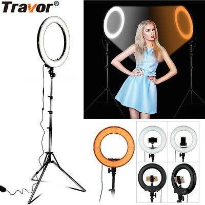 AU STOCK Dimmable18 INCH 5500K LED Ring Light For Video Photo With Light Stand