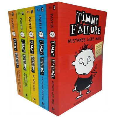 Timmy Failure Totally Catastrophic 5 Books Collection Set Pack By Stephan Pb