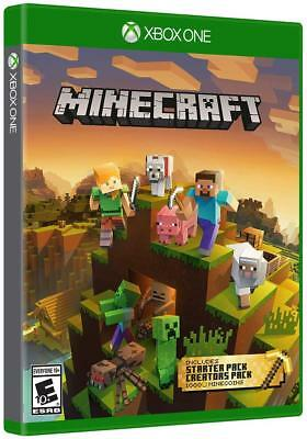 Minecraft Master Collection w/Starter + Creators Packs + 1K Minecoins Xbox 1 One