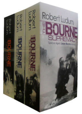 Robert Ludlum The Bourne Trilogy 3 Books Set Mystery Collection Paperback NEW