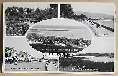 Old Multi View Postcard -  Helensburgh, Argyll and Bute, Scotland