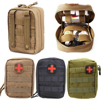 Tactical First Aid Kit Bag Medical Molle EMT Emergency Rescue Survival Pouch Bag
