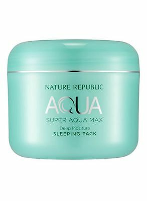 [Nature Republic] Super Aqua Max Deep Moisture Sleeping Pack-100ml