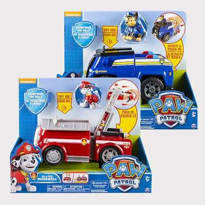 NEW Paw Patrol Deluxe Transform n Roll Vehicle Assorted Christmas Birthday Gift