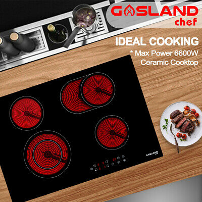 GASLAND chef Ceramic Cooktop Electric Cooktop Touch Control Kitchen 4 Burners