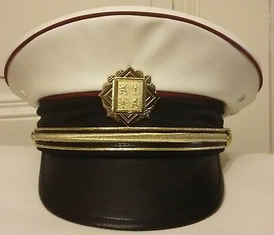 Chief of the Traffic Police-Colonel rank hat -NEW UNIFORM-Czech State Police