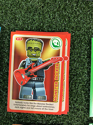 No 11 LEGO Sainsburys Create The World Incredible Inventions cards  011 all set