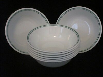"8 CORELLE ROSEMARIE 6 1/4"" Soup Chili Cereal Bowls"