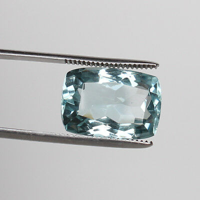 18.10 Ct. Natural Aquamarine Greenish Blue Color Cushion Cut Loose Certified Gem