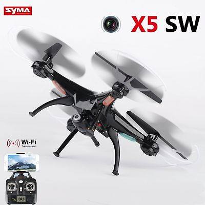 Syma X5SW Wifi Explorers 2.4G RC Headless Quadcopter Drones with HD Camera